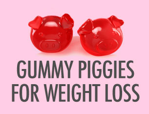 Weight Loss Gummies for Suppressing Appetite