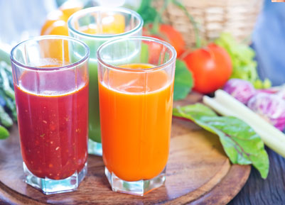 Drink vegetable to suppress appetite